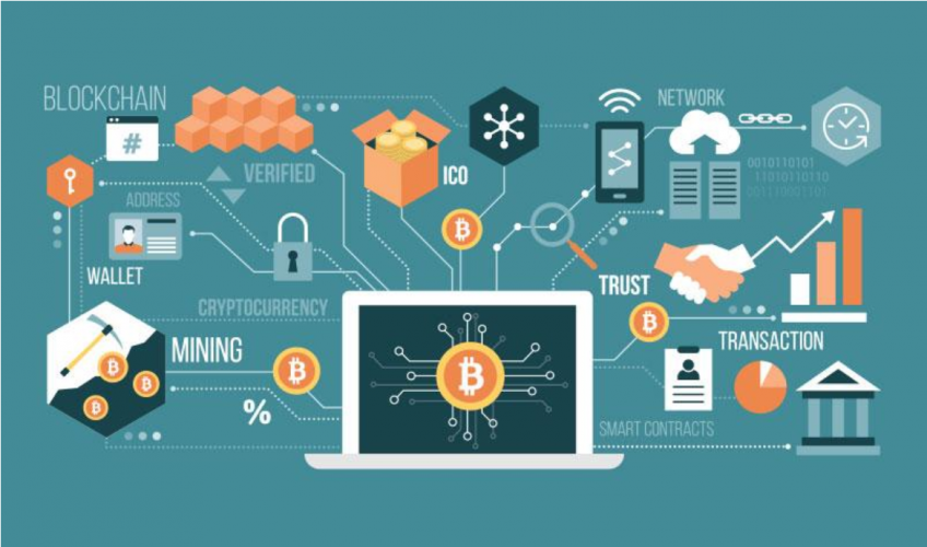 fintech and Blockchain Image